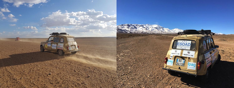 ESOAD - 4L TROPHY 2018 desert et neige
